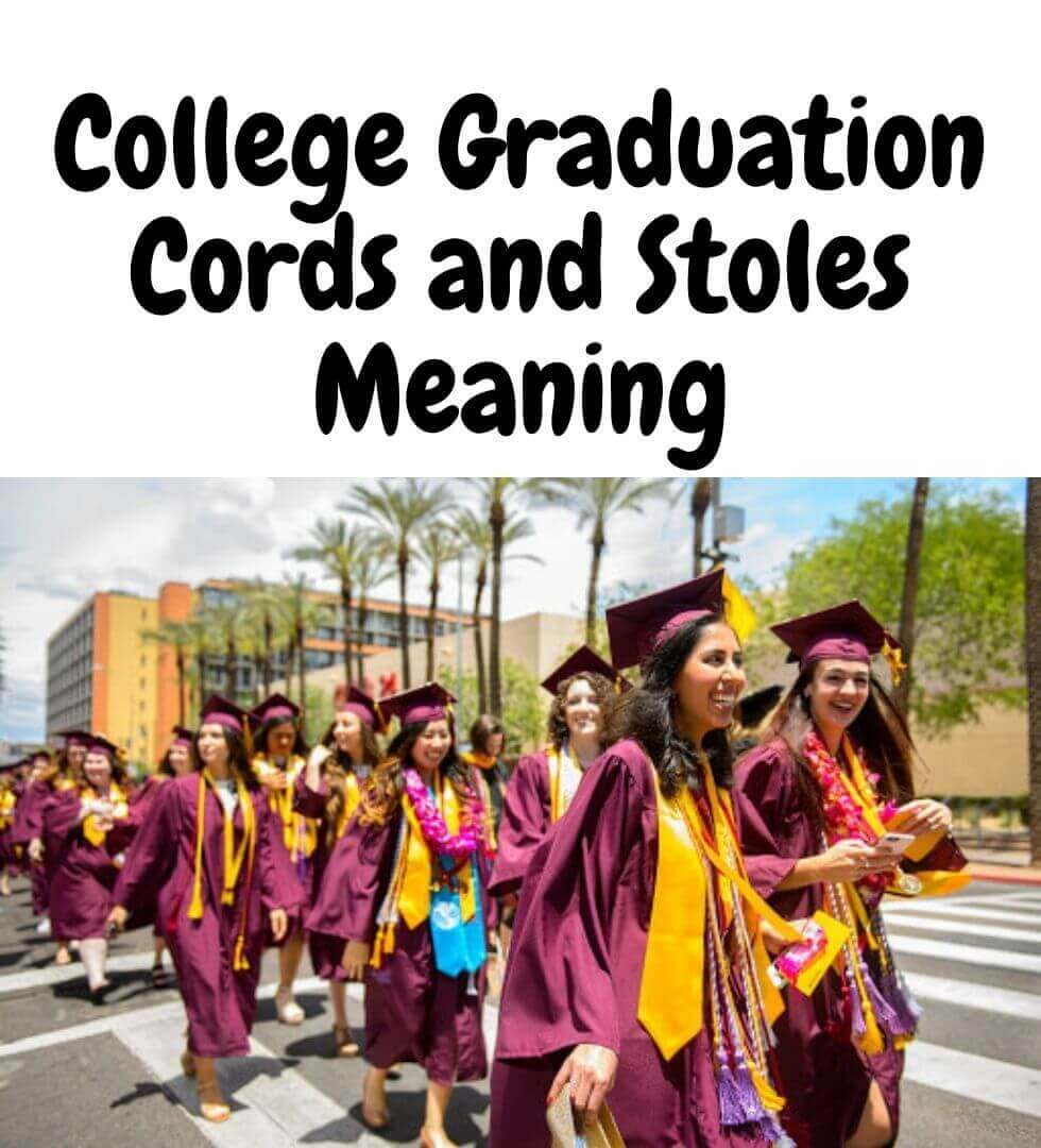 College Graduation Cords and Stoles Meaning