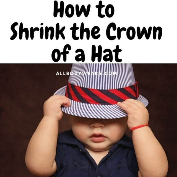 How to Shrink the Crown of a Hat